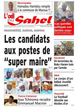 L'oeil du Sahel - 24/02/2020