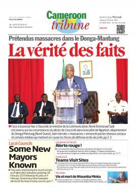 Cameroon Tribune - 19/02/2020