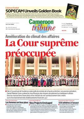 Cameroon Tribune - 21/02/2020