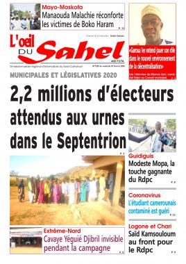 L'oeil du Sahel - 07/02/2020