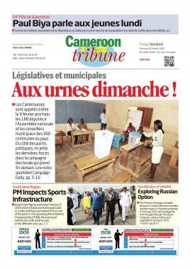 Cameroon Tribune - 07/02/2020