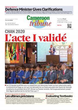 Cameroon Tribune - 18/02/2020