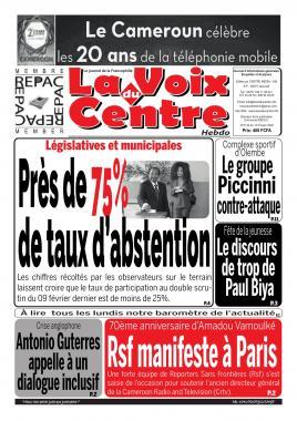 LA VOIX DU CENTRE - 12/02/2020