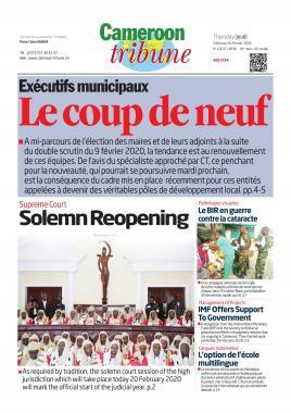 Cameroon Tribune - 20/02/2020