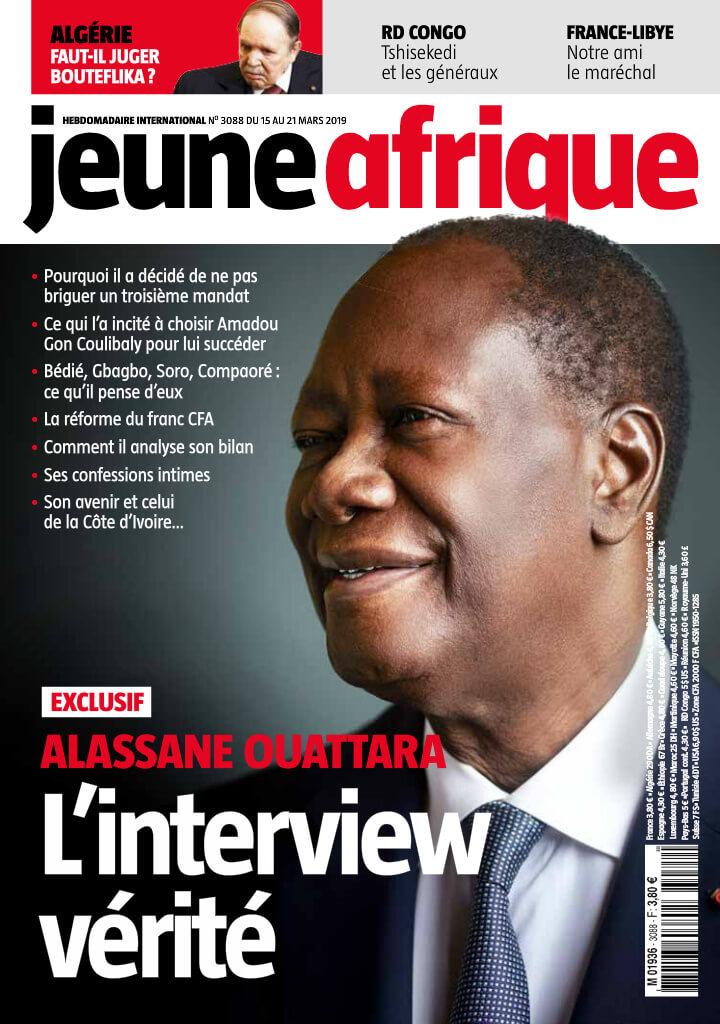 JEUNE AFRIQUE -16/03/2020