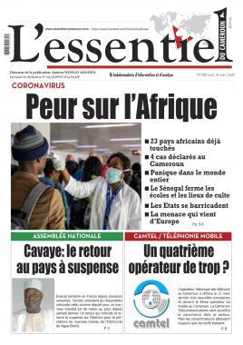 L'essentiel du Cameroun - 16/03/2020