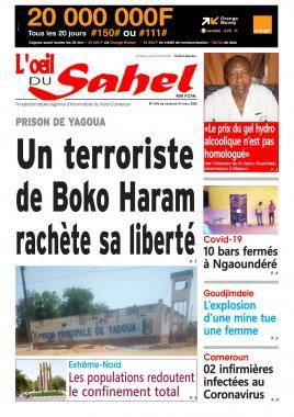 L'oeil du Sahel - 27/03/2020