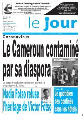 Le Jour - 31/03/2020