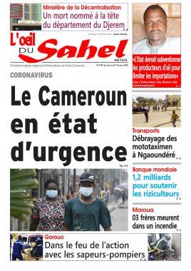 L'oeil du Sahel - 18/03/2020