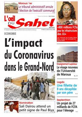 L'oeil du Sahel - 20/03/2020