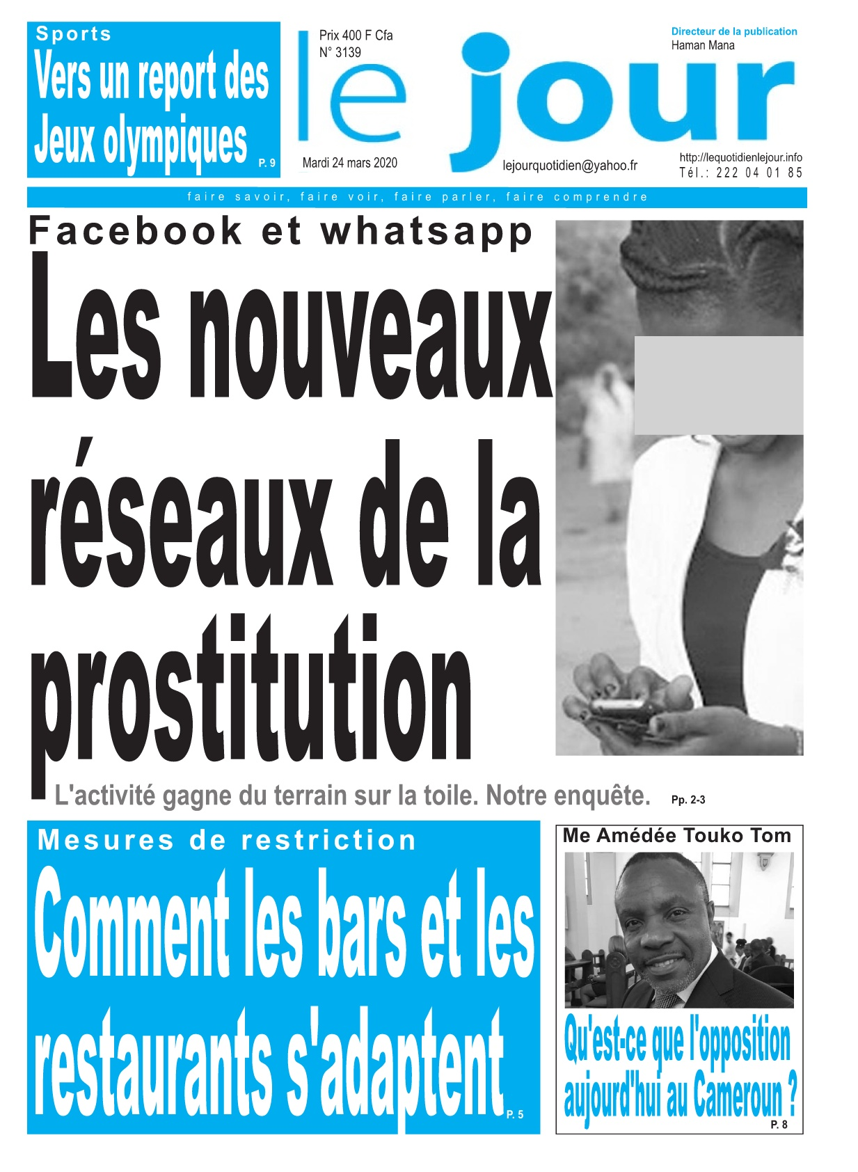 Le Jour - 24/03/2020
