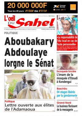 L'oeil du Sahel - 13/03/2020