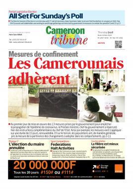 Cameroon Tribune - 19/03/2020