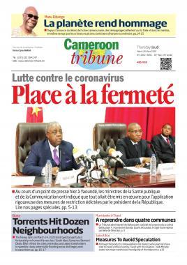 Cameroon Tribune - 27/03/2020