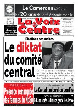 LA VOIX DU CENTRE - 09/03/2020