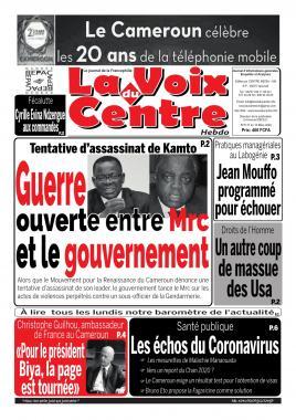 LA VOIX DU CENTRE - 16/03/2020