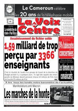 LA VOIX DU CENTRE - 02/03/2020