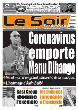 Le Soir - 25/03/2020