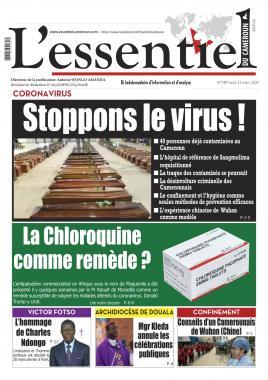 L'essentiel du Cameroun - 23/03/2020