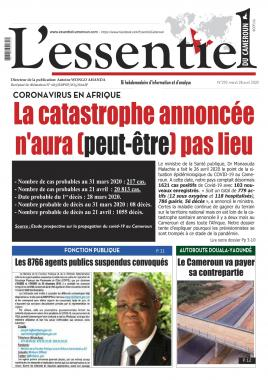 L'essentiel du Cameroun - 28/04/2020