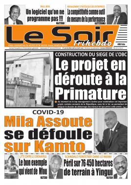 Le Soir - 01/04/2020