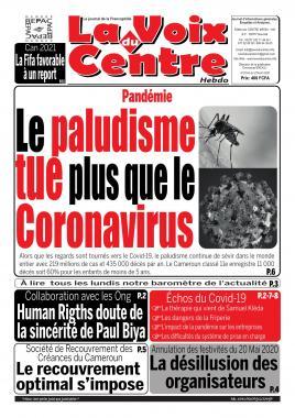 LA VOIX DU CENTRE - 27/04/2020