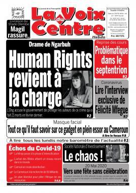 LA VOIX DU CENTRE - 20/04/2020