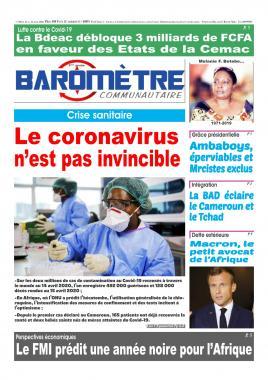 Baromètre - 16/04/2020