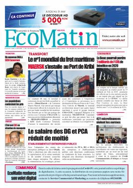 Ecomatin - 11/05/2020