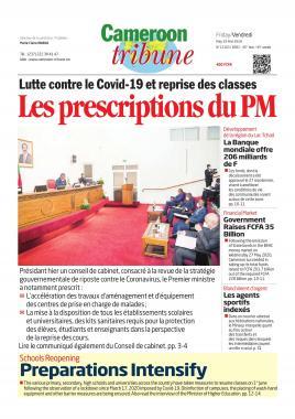 Cameroon Tribune - 29/05/2020