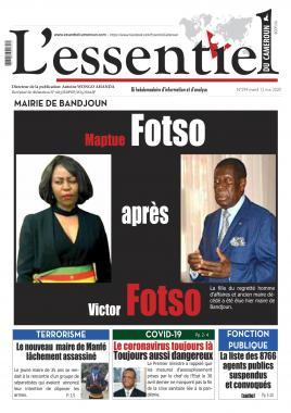 L'essentiel du Cameroun - 12/05/2020