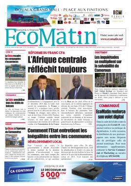 Ecomatin - 25/05/2020