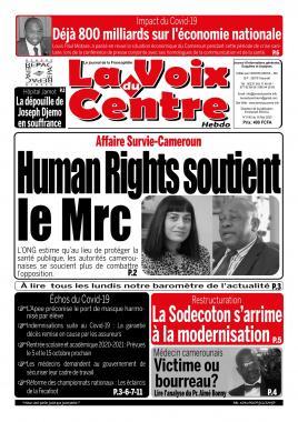 LA VOIX DU CENTRE - 18/05/2020