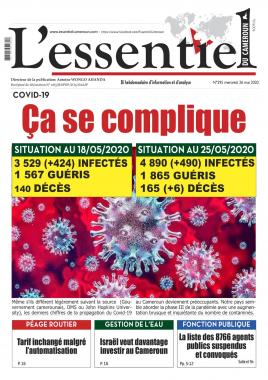 L'essentiel du Cameroun - 26/05/2020