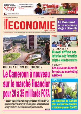 Le Quotidien de l'Economie - 28/05/2020