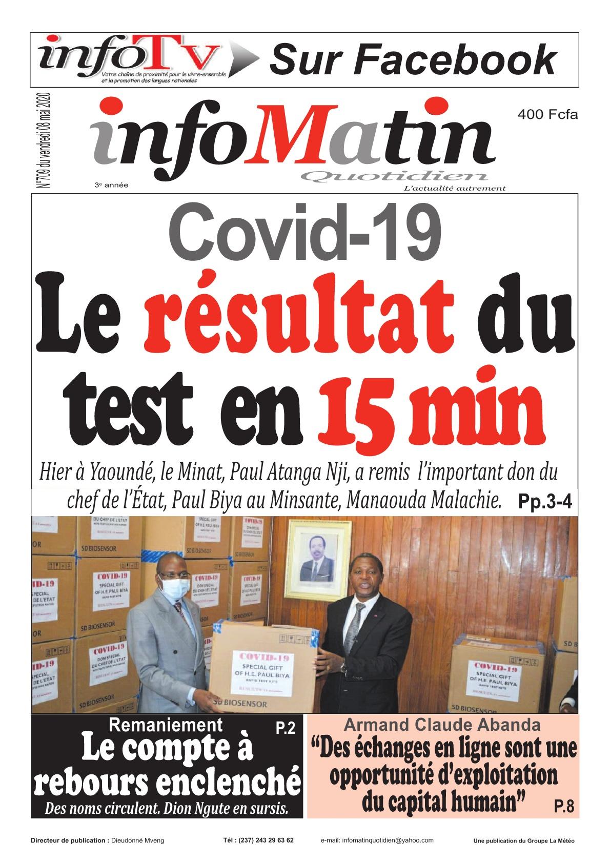 Infomatin - 08/05/2020