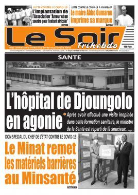 Le Soir - 08/05/2020