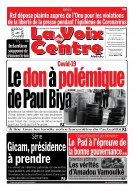 LA VOIX DU CENTRE - 28/05/2020