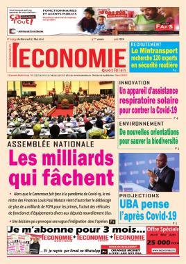 Le Quotidien de l'Economie - 27/05/2020