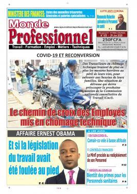 Monde Professionnel - 29/06/2020