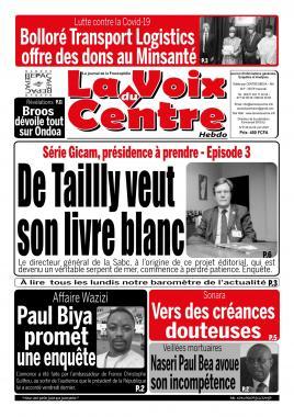 LA VOIX DU CENTRE - 08/06/2020