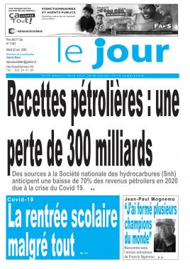 Le Jour - 02/06/2020