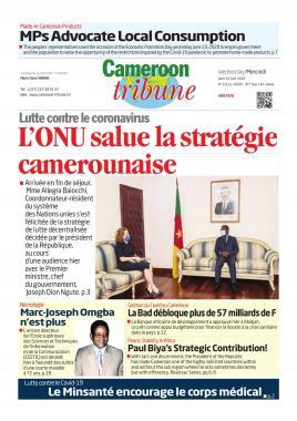 Cameroon Tribune - 24/06/2020
