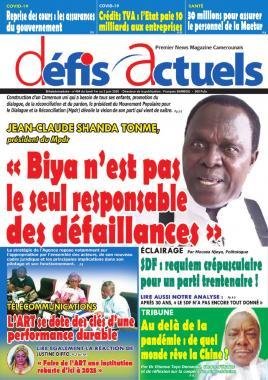 Défis Actuels - 01/06/2020