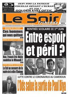Le Soir - 01/06/2020