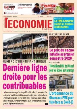 Le Quotidien de l'Economie - 02/06/2020