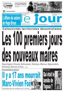 Le Jour - 26/06/2020