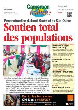 Cameroon Tribune - 29/06/2020
