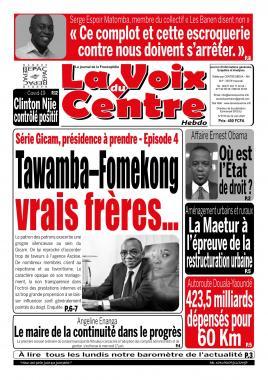 LA VOIX DU CENTRE - 22/06/2020