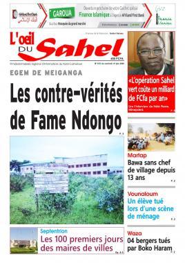 L'oeil du Sahel - 19/06/2020